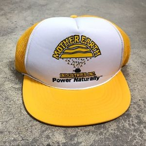 Vintage Mother Earth Mesh SnapBack Trucker Hat